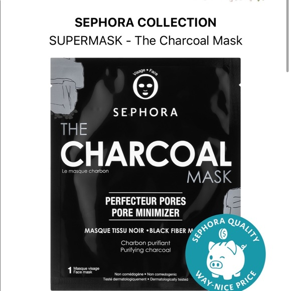 Sephora Pore Minimizing Charcoal Mud Mask